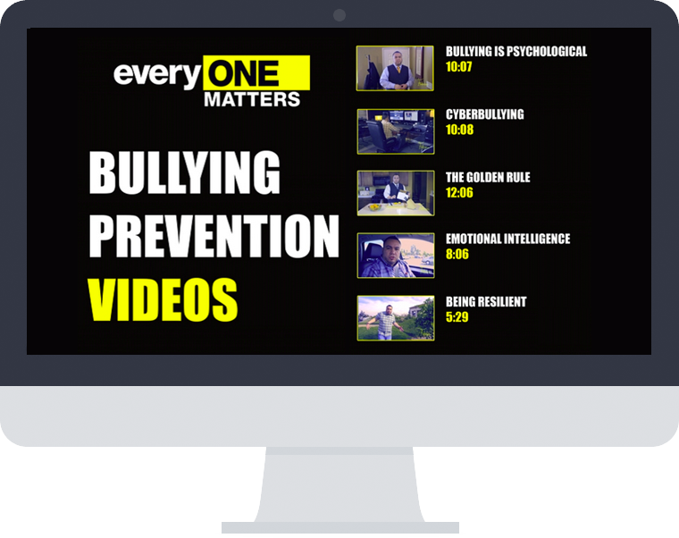 ONLINE ONLY - Bullying Prevention Videos
