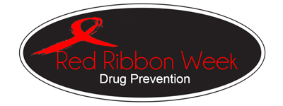 Red Ribbon Week Drug Prevention Logo